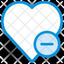 Dislike Heart Love Icon