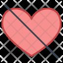 Dislike Heart Broken Icon