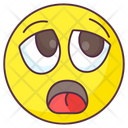 Dismay Emoji Dismay Expression Emotag Icon