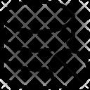Dismiss database Icon