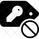 Dismiss Key Tag Icon