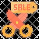 Cut Sale Sale Discount Icon