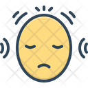 Disorders Anxiety Headache Icon