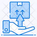 Dispatch Sending Parcel Consignment Icon