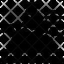 Dispersion Optical Spectrum Icon