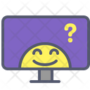 Display Monitor Screen Icon