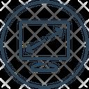 Display Diagonal Icon