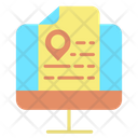 Display Location Detail Icon