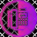 Display Telephone Icon