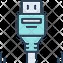 Displayport Connector Usb Icon