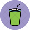 Disposable Cup Juice Icon