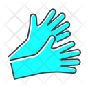 Disposable Gloves Protection Icon