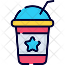 Disposable Cup Paper Cup Cold Coffee Icon