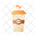 Disposable Cup Coffee Takeaway Icon