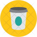 Disposable Cup Paper Icon