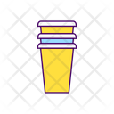 Cup Disposable Paper Icon