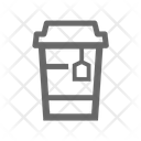 Disposable Glass Icon