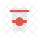 Paper Cup Glass Drink Icon