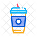 Drink Straw Take Icon