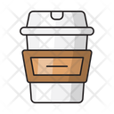 Glass Papercup Juice Icon