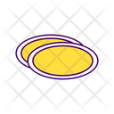 Plate Disposable Utensil Icon