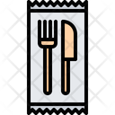 Disposable Cutlery Food Icon