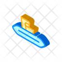 Disposable Wipes Isometric Icon