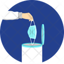 Dispose Mask Face Mask Icon