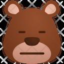 Dissapointed Emoji Sticker Icon