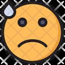 Dissapointed Emoji Expression Icon