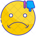 Dissatisfied Negative Face Icon