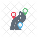 Distance Map Location Icon