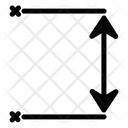 Distance Arrows Dimension Icon