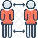 Distance Space Gap Icon