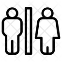 Virus Distance Man Icon