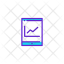 Distance Control Online Report Online Analysis Icon