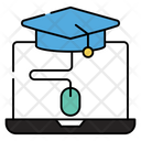 Online Education Online Learning Elearning Icon