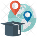 Distance Learning Distance Education Virtual Learning Icon