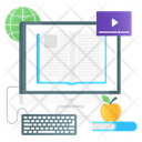 Distance Learning Online Learning Learning Application Icon