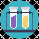 Lab Rack Flask Icon