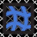 Distort Warp Mesh Icon