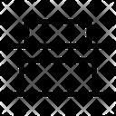 Distribute Bottom Bottom Alignment Alignment Icon