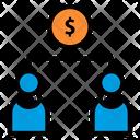 Distribute Finance Commission Distribute Icon
