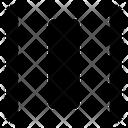 Distribute layers horizontally Icon