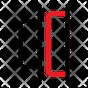 Distribute Horizontal Right Icon