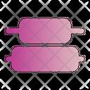 Distribute Vertical Center Icon