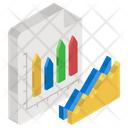 Distributed Chart Infographic Statistics Icon