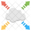 Distributed Cloud Icon