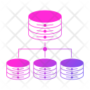 Distributed  data Icon