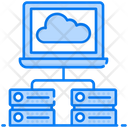Distributed Database Database Network Database Connection Icon